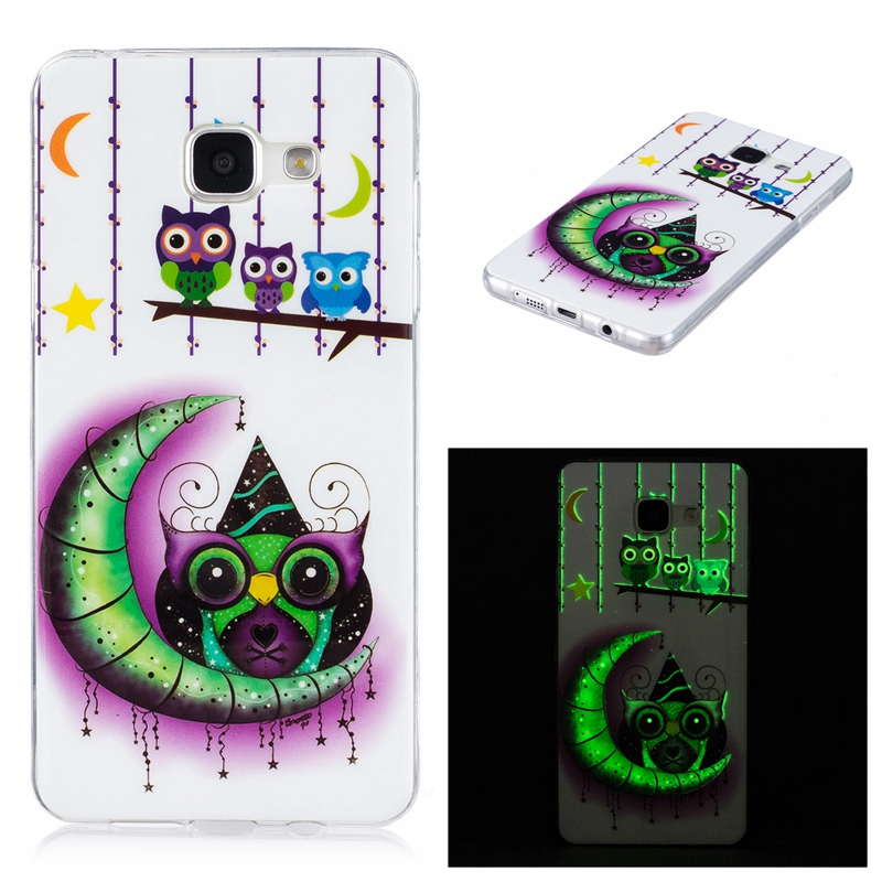 Considerate Mutouniao Moon Owl Luminous Tpu Soft Silicon Case Cover For Samsung Galaxy S5 S6 S7 S8 Edge Plus A3 A5 J5 J7 2016 2017 Phone Bags & Cases