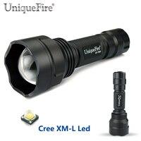 UniqueFire Cree Led Flashlight 1505 CREE XM L Led Zoom 5 Modes 10W Powerful Led Lamp