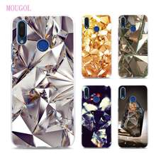 MOUGOL Crystal Diamond Transparent hard Phone cases cover for Huawei Honor  Mate P10 P20 8 9 10 Lite Pro P20 Lite f09ed34dfde7