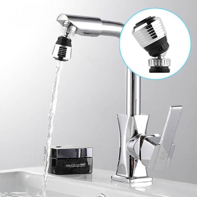 360 Ruota Girevole Rubinetto Ugello rubinetto Dell'acqua Torneira Adattatore Fil