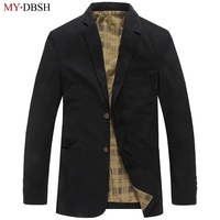 Brand Blazer Men Casual Blazers Cotton Denim Parka Mens slim fit Jackets Army Green Khaki Large Size S~4XL outdoors outwear coat