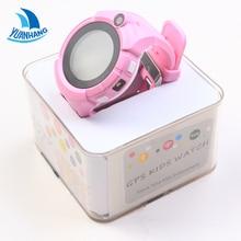 Touch Round Screen Smart GPS LBS Tracker Locator SOS Remote Camera Monitor Anti-Lost Kid Child Phone Watch WristWatch PK Q90 T58