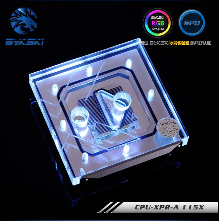 Bykski Water Cooling CPU-XPR-A V3 CPU Block 85x85mm Bottom Intel X99 X299 2011 2066 цена 2017