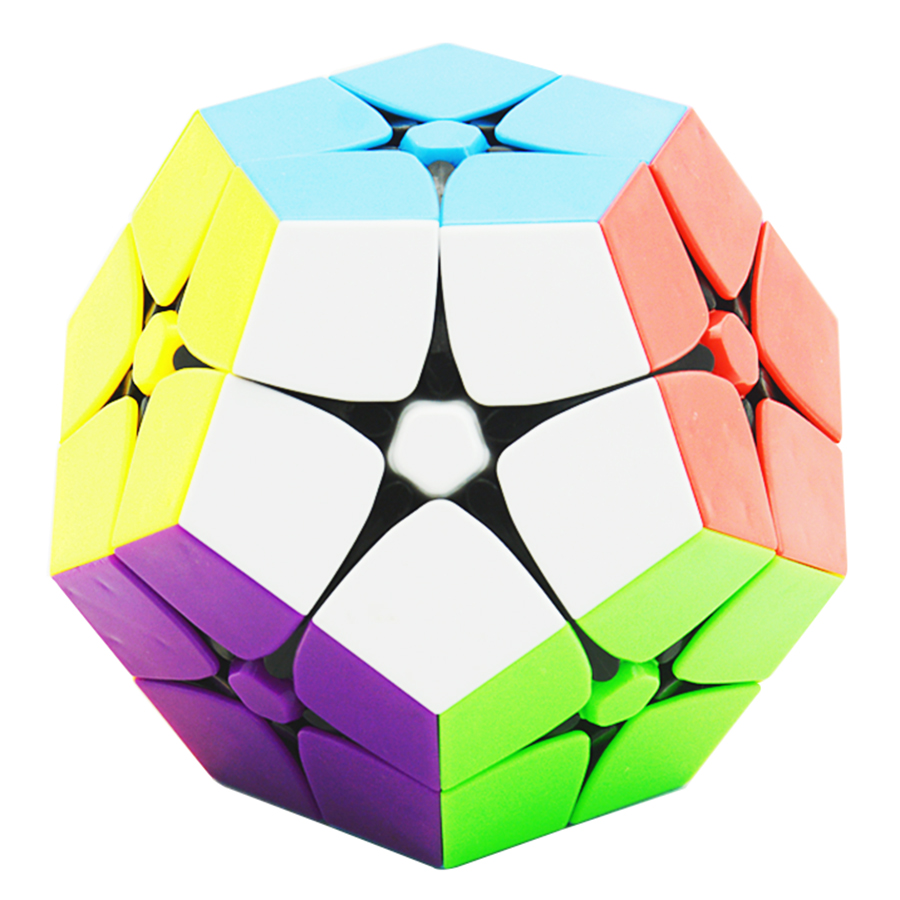 Lefun 2x2 Megamin Magic Cube Stickerless 2Layer Professional Puzzle Speed Cubes Educational Special Toys x cube 8 layers 86mm magic cube puzzle cubes educational toy special toys with gift box