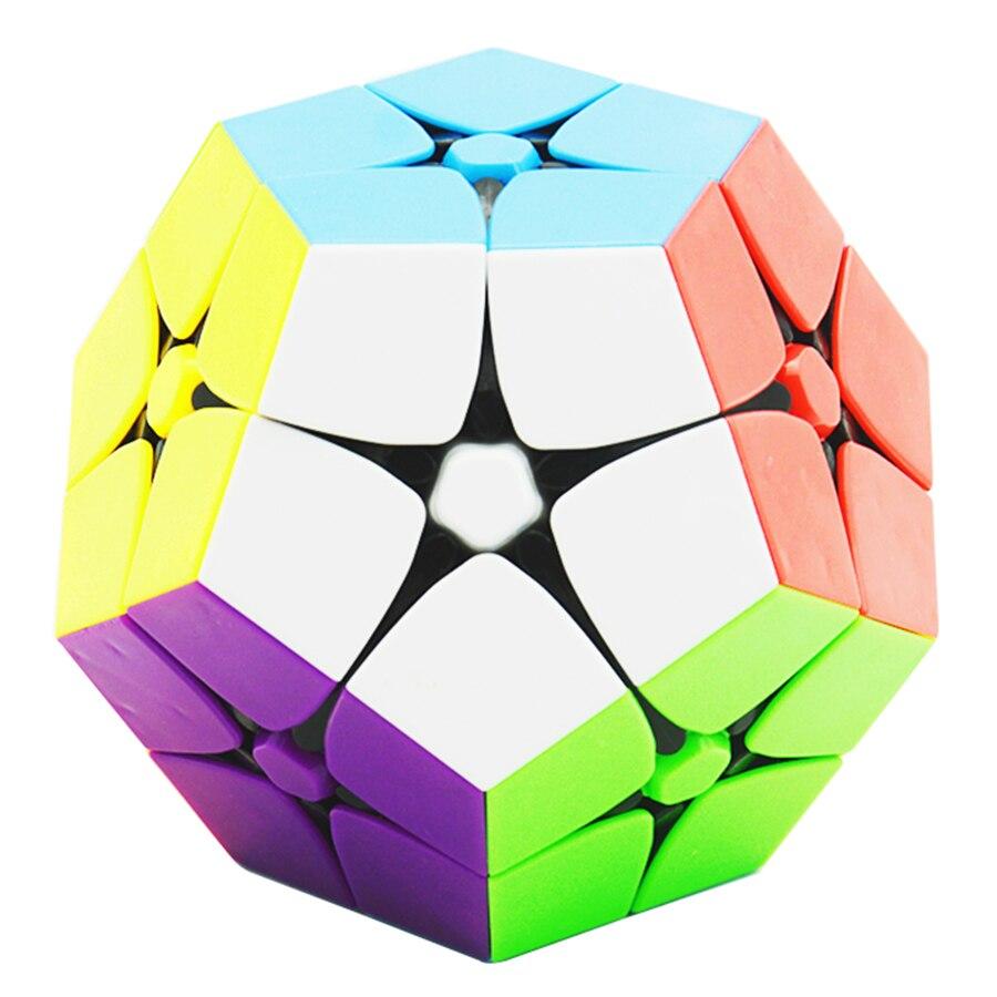 Lefun 2x2 Megamin Magic Cube Stickerless 2 Couche Professionnel Puzzle Vitesse Cubes Éducatifs Jouets Spéciaux