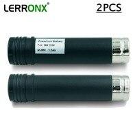 2PCS High Capacity 3000mAh 3.6V Ni MH rechargeable battery for Black Decker VP100 VP105 VP110 VP110C VP143 Versapak nimh bateria