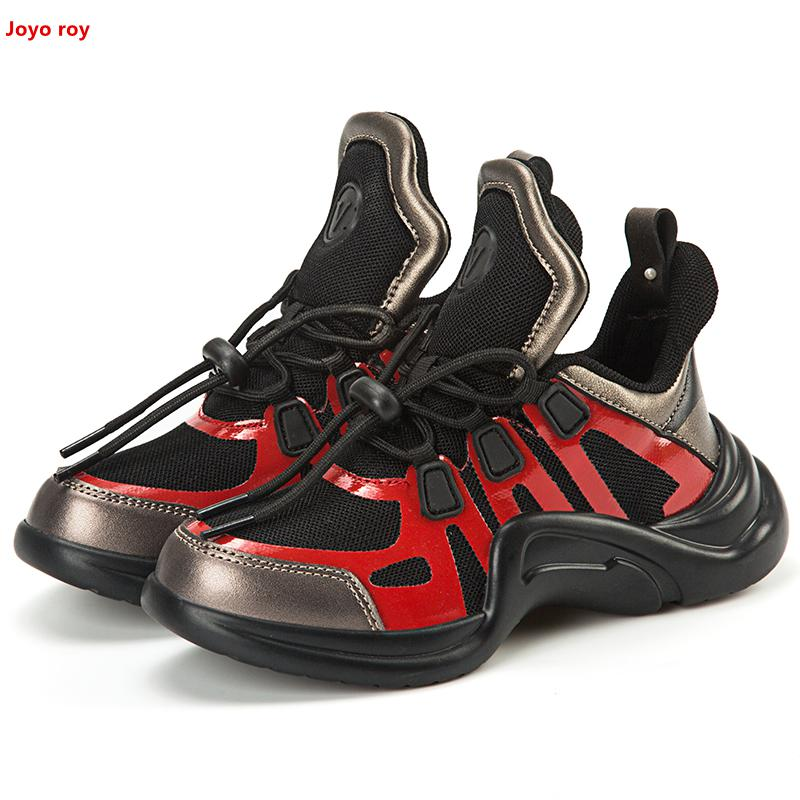 f095221e85f7 Aliexpress.com   Buy Kids Shoes Boy Shoe Black Sneakers 2018 Luxury Brand  Archlight Chaussure Enfant Garcon Pink Girls Sneakers Shoes Children Girl  from ...