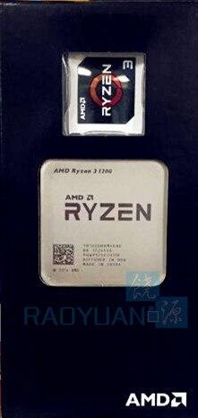 New AMD Ryzen 3 1200 R3 1200 3.1 GHz Quad-Core Quad-Thread CPU Processor YD1200BBM4KAE Socket AM4New AMD Ryzen 3 1200 R3 1200 3.1 GHz Quad-Core Quad-Thread CPU Processor YD1200BBM4KAE Socket AM4