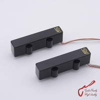1 Set GuitarFamily Original Genuine Germany MEC 4 Strings Active Jazz Bass Pickup M60201S M60201L