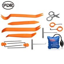 Check Price Super PDR Lock Picks Kit Lock Pick Set Machine For Making Keys Locksmith Tools Pump Wedge Lock Pick Car Opening Tools 13 pcs/set