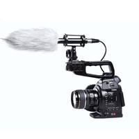 BOYA BY PVM1000 Professional Condenser Shotgun Camera Interview Microphone Studio 3 Pin XLR Output On DSLR