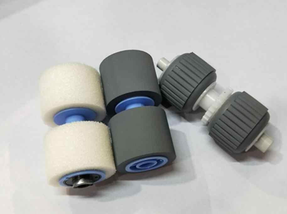 Baru Yang Kompatibel Scanner Mengambil Roller untuk Canon DR-6050C 7550C 9050C Mesin Fotokopi Pickup Roller Printer Bagian 3 buah/Set