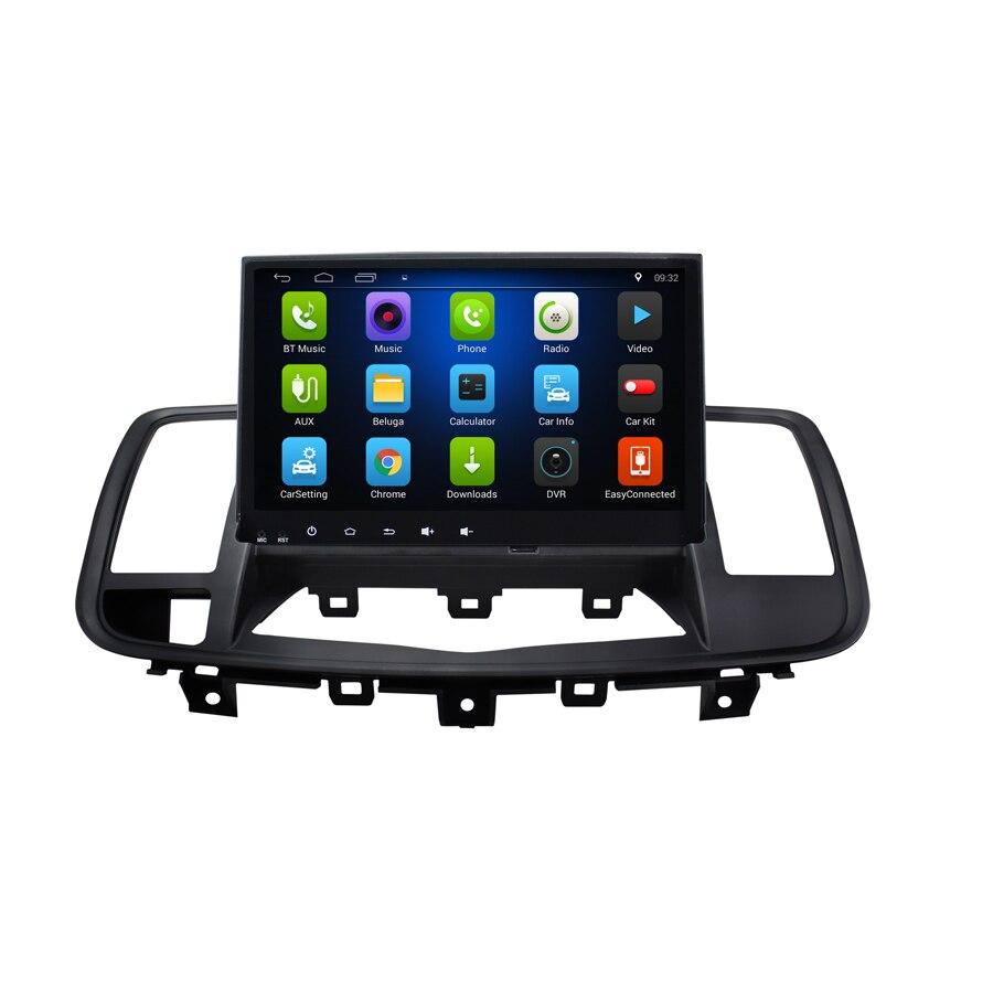 Livraison gratuite Elanmey android 8.1 voiture multimédia pour Nissan Teana 2008 altima 1080 P gps stéréo magnétophone lecteur autoradio
