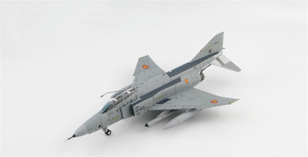 HOBBY MASTER 1:72 Spanish Air Force RF-4C Phantom II CR 12-51 / 12-60 Alloy fighter model HA1995