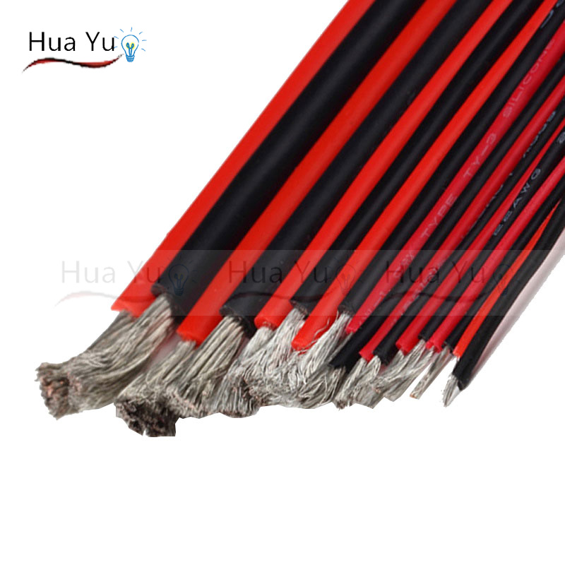 Pvc Cable Uses : Tinned copper awg pin red black cable pvc insulated