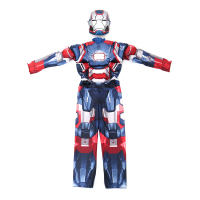 Iron Man Costume Mark 42 / Patriot With Muscles For Kids Child Halloween Cosplay (2 Designs) 3