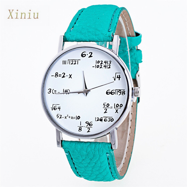 20167 New Fashion Women Watche PU Leather Women Bracelet Watch Casual Wristwatch