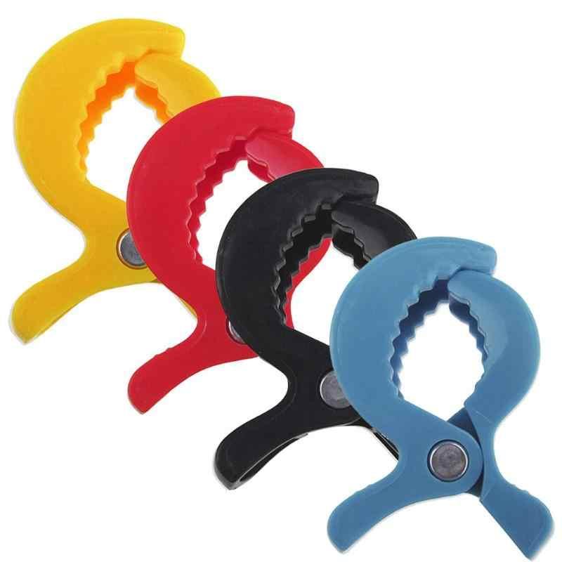 เด็กที่มีสีสันรถอุปกรณ์เสริมพลาสติกรถเข็นเด็กของเล่นคลิปรถเข็นเด็ก Peg Hook ผ้าห่มยุงสุทธิคลิป