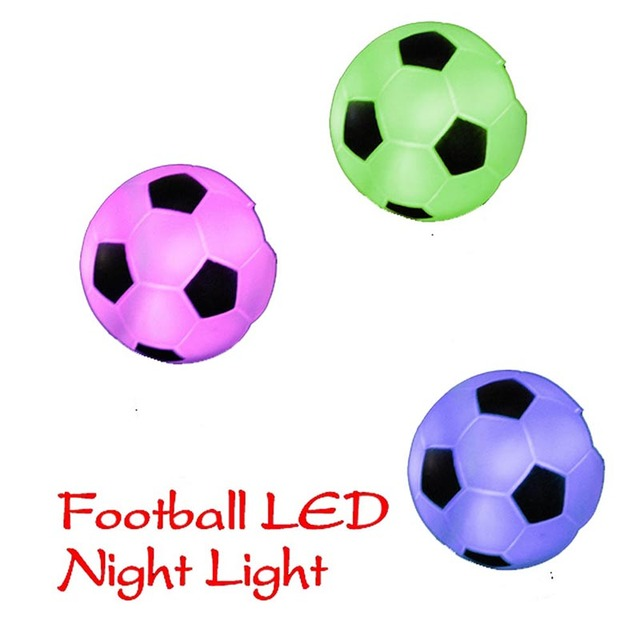 Color Changing LED Xmas Mood Party Decoration Football Lamp Night Lamp  Light HR
