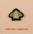10 pcs/lot Small Insects Embroidery Iron-On Patches For Clothes Garment Applique DIY Accessory