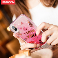 Lovely Case For Iphone 8 Blink Blink Moving Sequins Transparent Back Shell Pretty Girl Lady Woman
