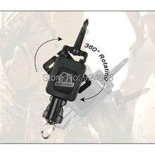 Canis Latran Новое поступление Тактическое Военное Снаряжение Ретрактор из нержавеющей стали четыре цвета для тактического рюкзака страйкбола пистолет HS33-0081