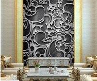 Bức tranh tùy chỉnh, trừu tượng gân của lá cây đồ họa 3d wallpaper Papel de parede, phòng khách TV sofa tường phòng ngủ hình nền cho bức tường 3 d