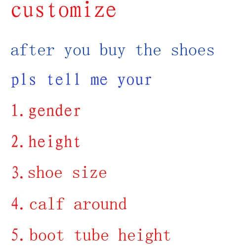 Seta Kaoru Tsurumaki Kokoro cosplay shoes Boots Custom Made @ Bang Dream