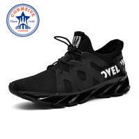 Breathable Outdoor Running Shoes for Men Comfortable Man Designer Sneakers 2018 Sunmmer Mesh Lace Up Sport Jogging Shoes Men