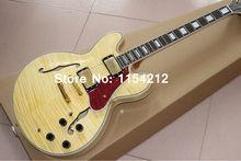 G Custom shop Licht Gelb farbe tiger burst e-gitarre