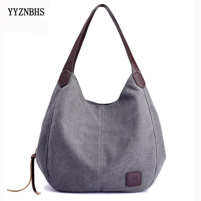Canvas Bag Women Shoulder Bag Luxury Handbags Ladies Hand Bags Casual Tote Bags For Women 2020 Bolsa Feminina  Sac A Main Femme