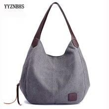 Płócienna torba damska torba na ramię luksusowe torebki damskie torebki na co dzień torby z bawełny dla kobiet 2020 Bolsa Feminina Sac A Main Femme