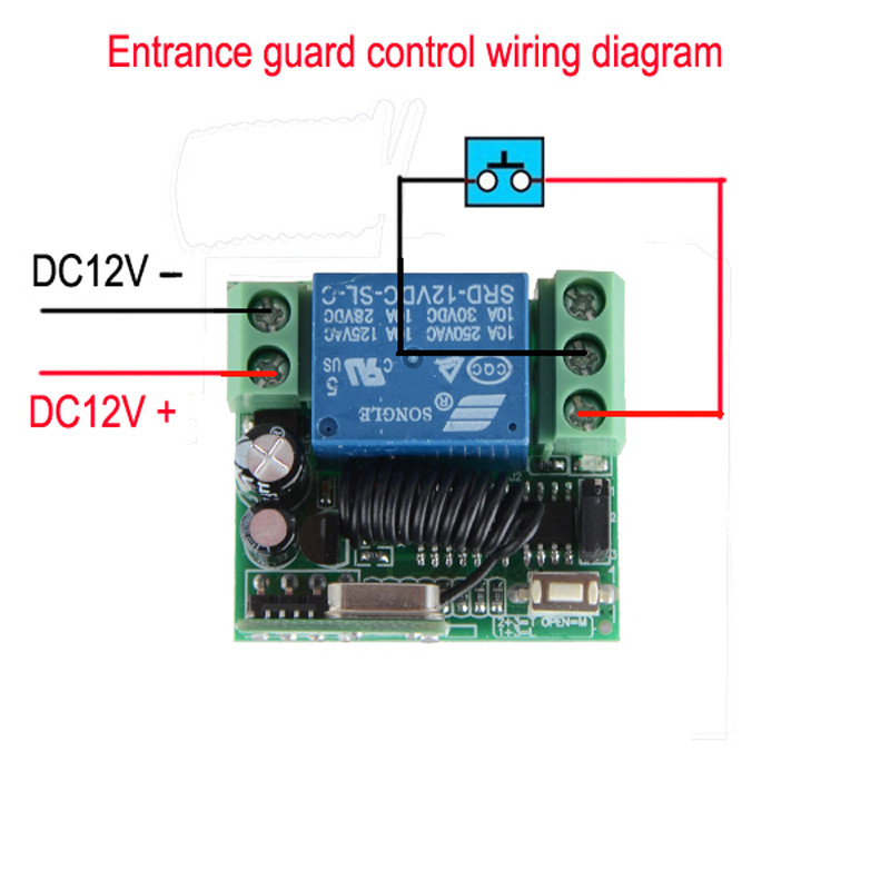 12v Remote Control Wiring Diagram - Explained Wiring Diagrams