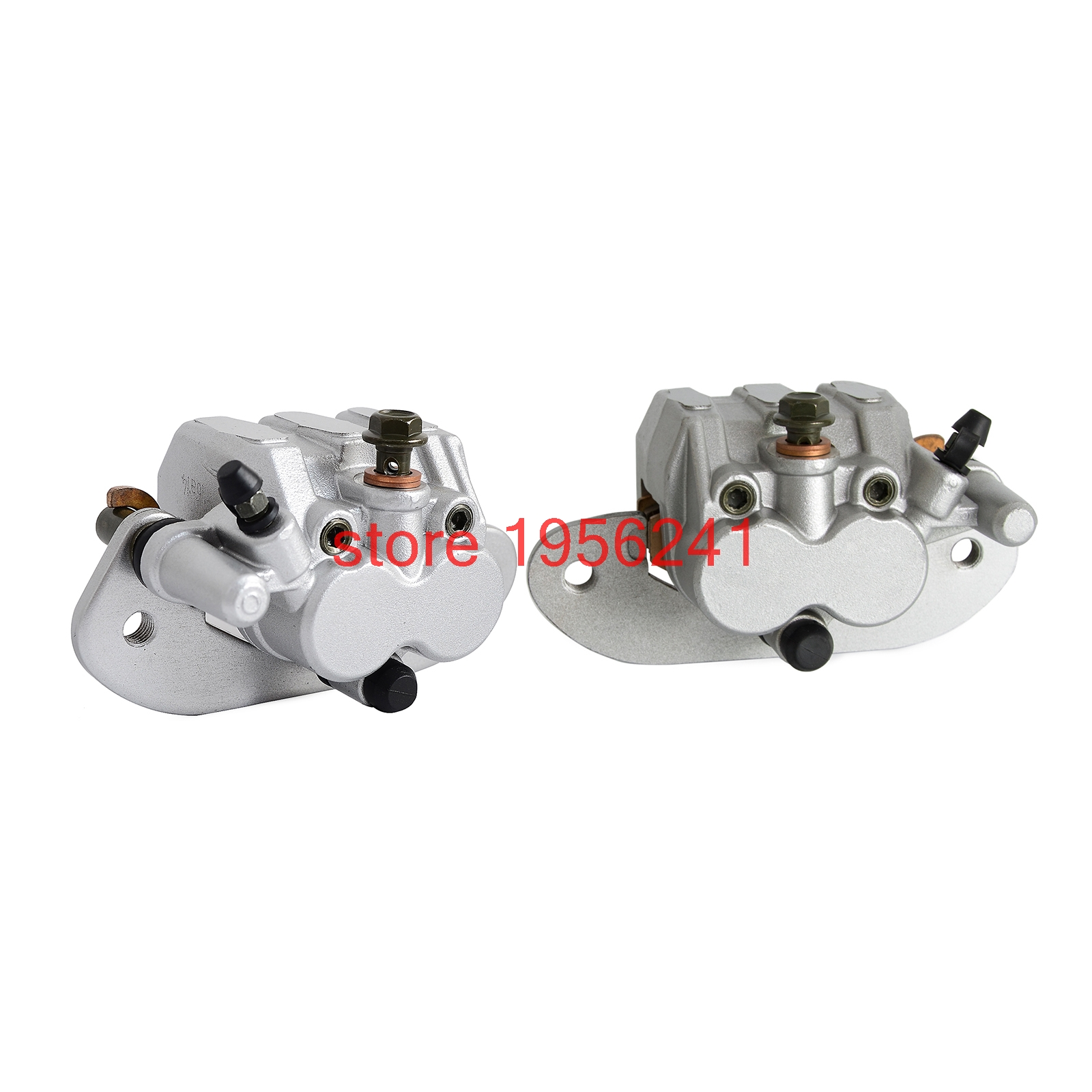 Rear Left & Right Brake Caliper Set With Pads For Yamaha UTV Rhino 700 2008 - 2013 2009 2010 2011 2012 NEW car rear trunk security shield shade cargo cover for nissan qashqai 2008 2009 2010 2011 2012 2013 black beige