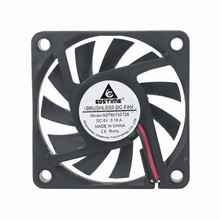 10 pcs/lot GDT DC 5V 2P 6cm processor cooling fan 60*60x10mm Cooler 6010 6010s Radiator fans cooling цена в Москве и Питере