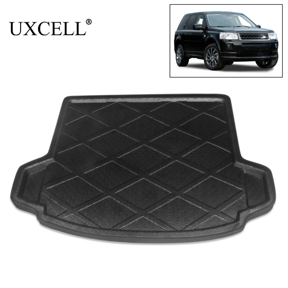 UXCELL One Of Random Send Black Rear Car Trunk Tray Boot Liner Cargo Floor Mat Cover For Land Rover Freelander 2 2007 TO 2016 все цены