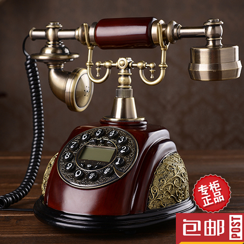 Special offer European antique landline phone new American retro fashion telephone Retro art classical Rotary Dial