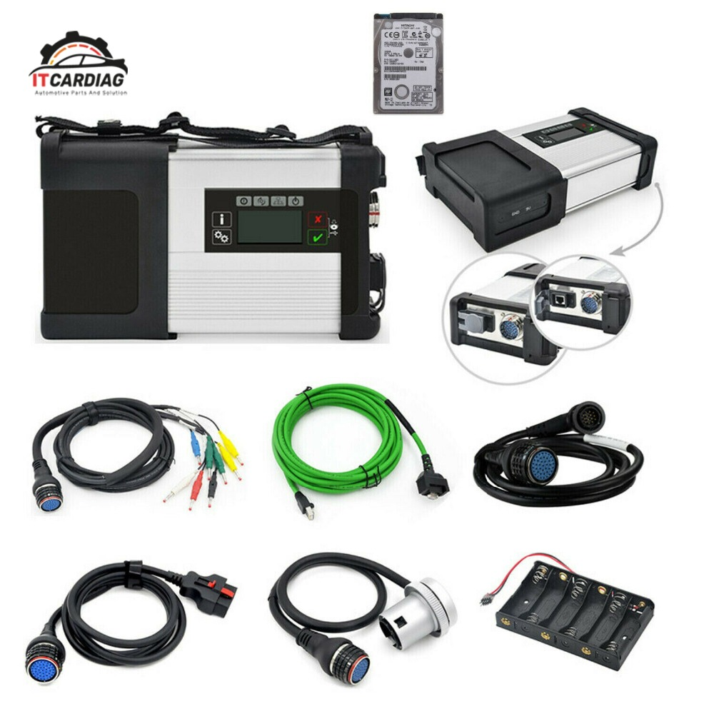 Estrela MB SD Conectar XENTRY C5 WI-FI De Diagnóstico para o Benz de Multi-Idioma Com V2019.07 320 GB HDD Software Completa suporte técnico