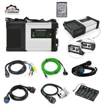 MB Star SD Подключение C5 XENTRY диагностический wifi для Benz многоязычный с V2019.07 320 Гб HDD полное Программное обеспечение техническая поддержка