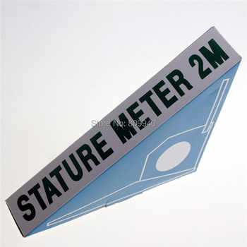 Drop shipping 200cm wall mounted height meter ruler stadiometer Baby growth measure tape height rod 120pcs/lot