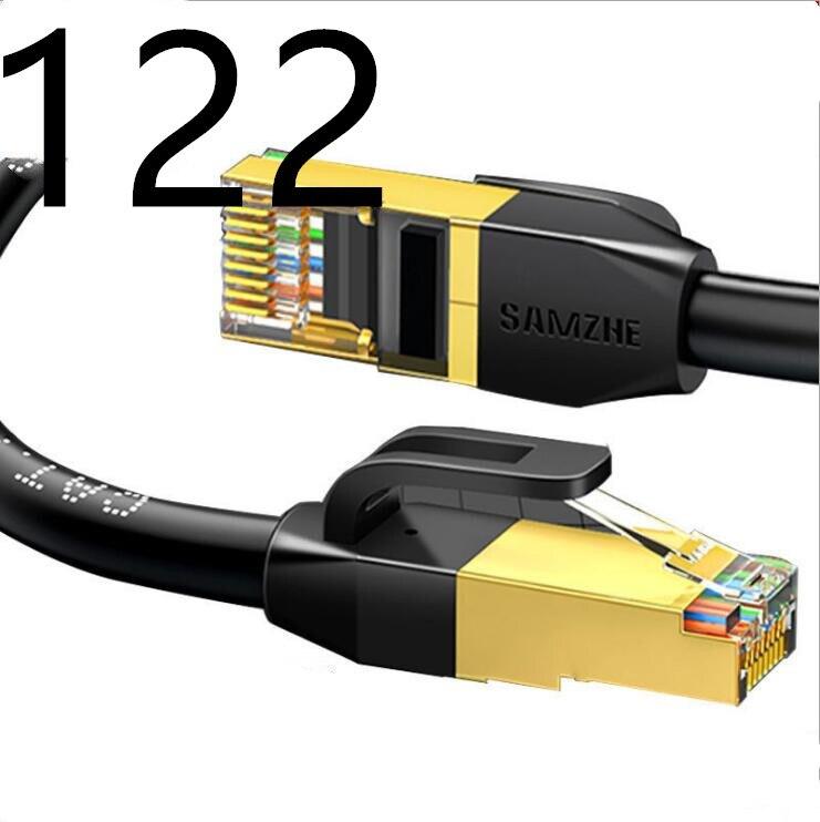 122 # HIXANNY CAT5 câble Ethernet plat réseau Ethernet cordon de raccordement câble LAN CAT5