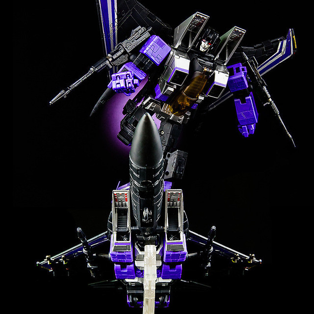 Top Quailty Transformador Masterpiece collection MP11sw Skywarp brinquedos do miúdo 25 cm