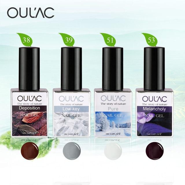 Цвет ногтей Oulac Горячие Продажи Гель Для Ногтей Высокое Качество Ногтей Гелем