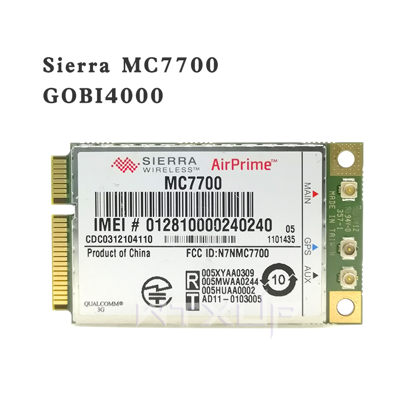 Gps-Module Wlan-Card WWAN HSPA Sierra Mini LTE Wireless Unlocked 100mbps PCI MC7700 Express