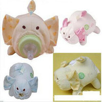 Baby Bottle Cooler Bag Animal Bottle Insulation Cover Glass Bottle Sets Cartoon Bottle Heat Preservation Bucket
