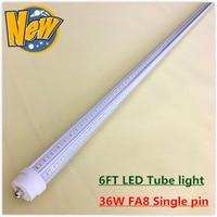 Fa8 Single Pin LED Tube Light 28w SMD2835 192 LEDs 4 Ft 1200mm 1 2M LED