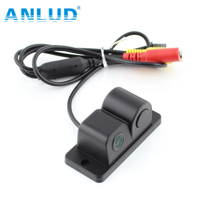 2 in1 Automobiles Car Electronics Parking Sensors Black Sensors Reversing Radar Car Rear View Vamera Reversing