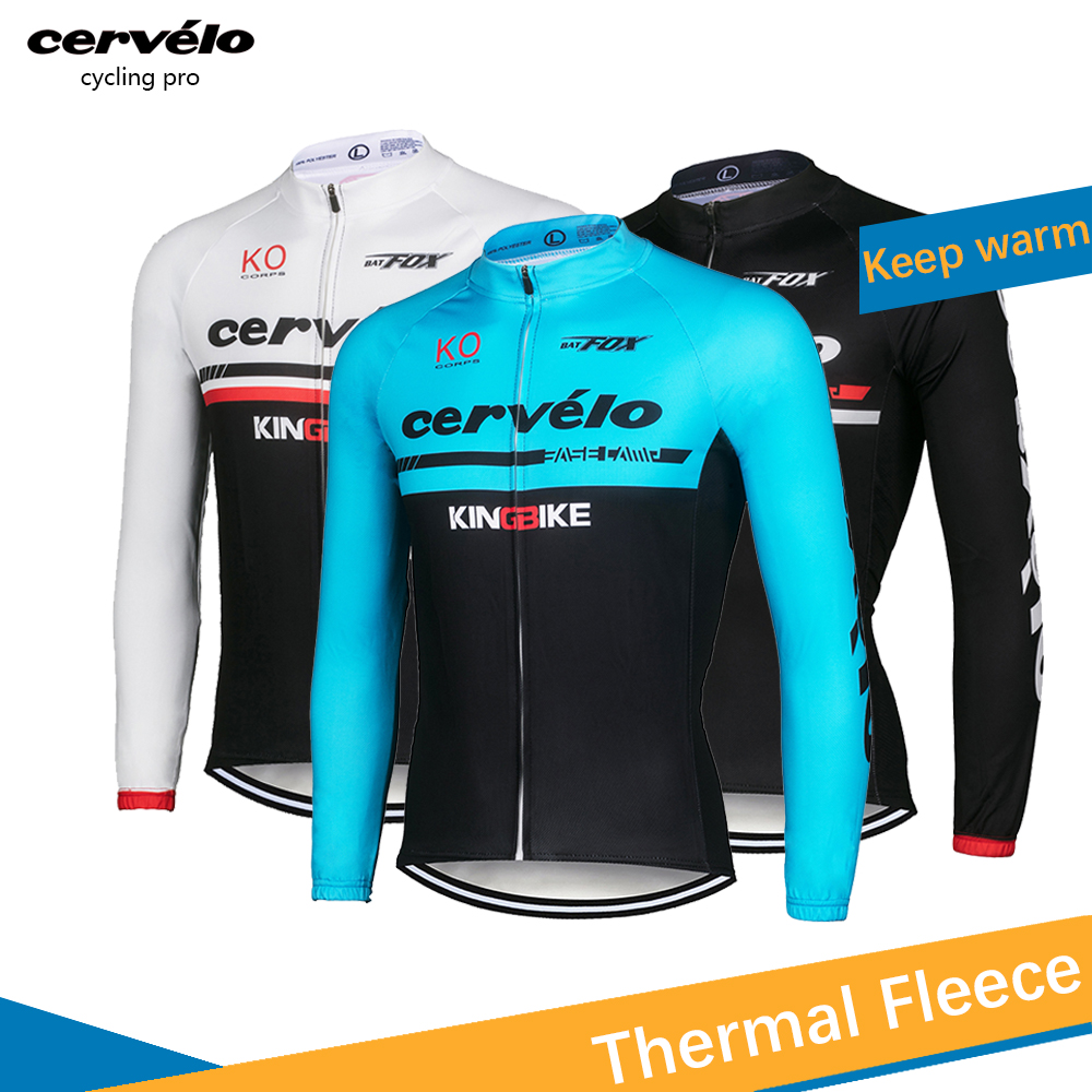 Detail Feedback Questions about Mens Long Sleeve Cycling Jersey Winter 2018  Mountain Bike Jersey Thermal Fleece Bicycle Jersey Maillot Ciclismo  Invierno on ... d265be822