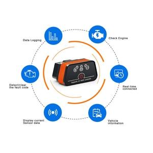 Image 2 - Vgate iCar2 ELM327 obd2 Bluetooth elm 327 V2.1 obd 2 wifi icar 2 Automotive diagnostic scanner for android/PC/IOS code reader