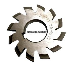 Image 3 - 8 Uds. NO.1 NO.8 herramientas de corte de engranaje de acero rápido, M0.4, M0.5, M0.6, M0.7, M0.8, M1, M1.25, M1.5, M2, M3, M4, Modulus PA20 grados